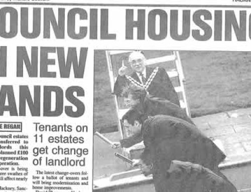 Council Housing in New Hands: Hackney Gazette 1999