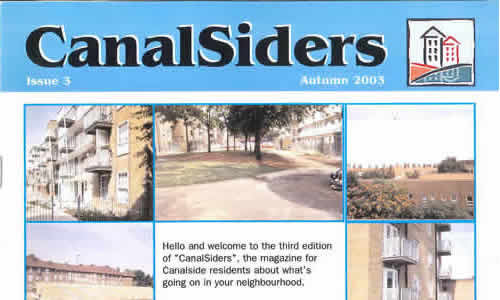 xarchive2003_News_Canalsiders Autumn 2003 No3