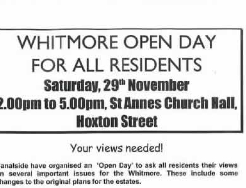 Whitmore Estate Open Day Flyer: 2003