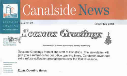 xarchive2004_News_Canalside News Dec 2004 No72