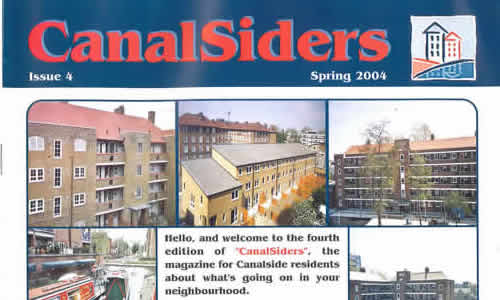 xarchive2004_News_Canalsiders Spring 2004 No4