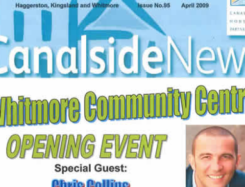 Canalside News: April 2009