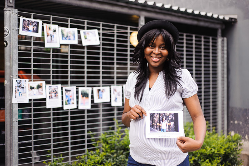 Humans of Canalside Storybooth with local photographer Marcia Chandra at the Canalside Residents' Association Community Day, June 2014. Image by Ian Buswell.